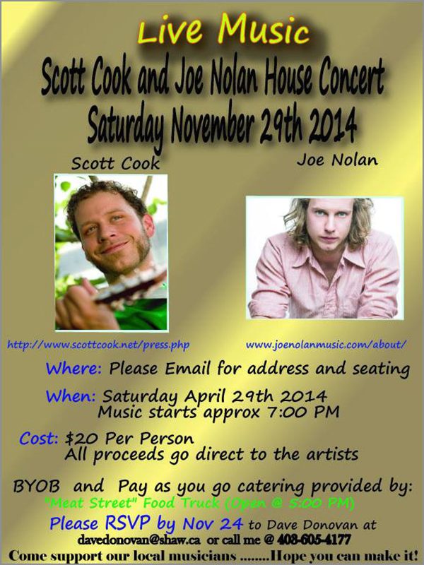 Scott Cook and Joe Nolan