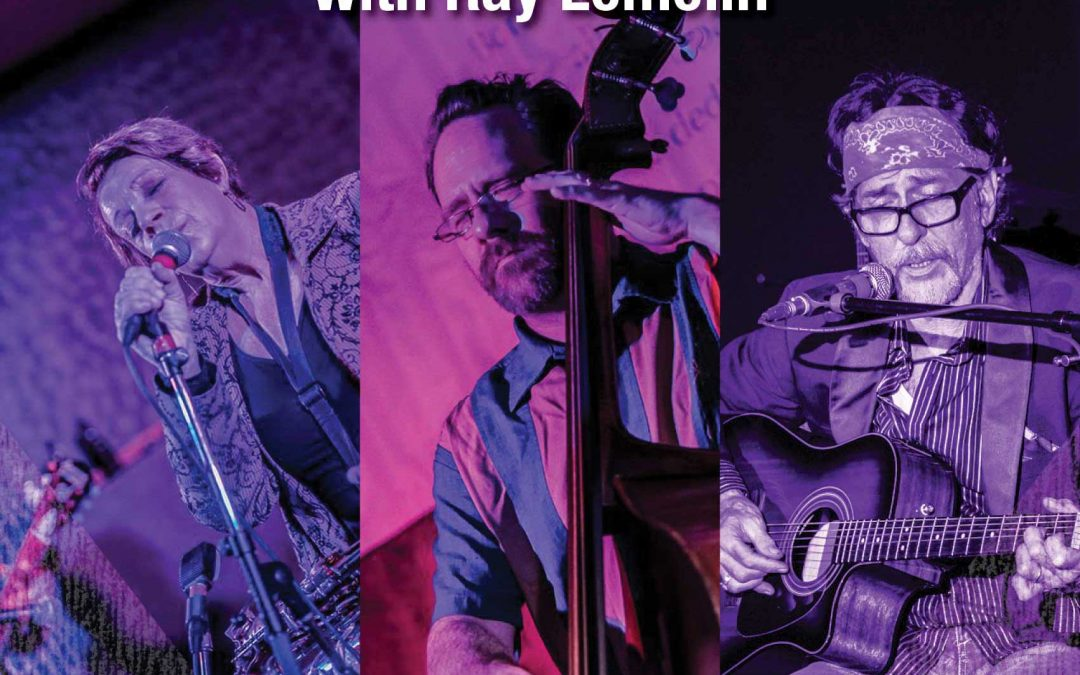 Shirley Jackson/Jef Wirchenko Duo with Ray Lemelin July 7