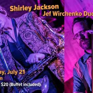 Shirley Jackson w/Jef Wirchenko Duo at Calgary House Concerts