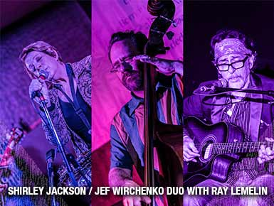 Shirley Jackson/Jef Wirchenko Duo with Ray Lemelin