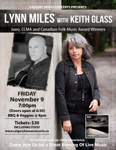 Lynn Miles w/ Keith Glass