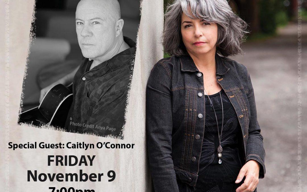 Lynn Miles w/Keith Glass House Concert Fri Nov 9