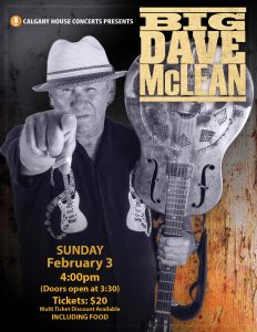Big Dave McLean: February 3, 2019