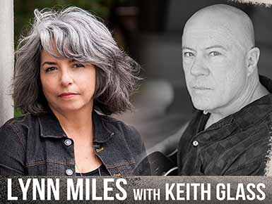 Lynn Miles with Keith Glass