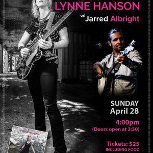 Lynne Hanson w/Jarred Albright House Concert: April 28, 2019