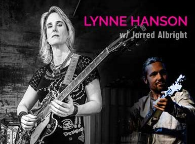 Lynne Hanson with Jarred Albright