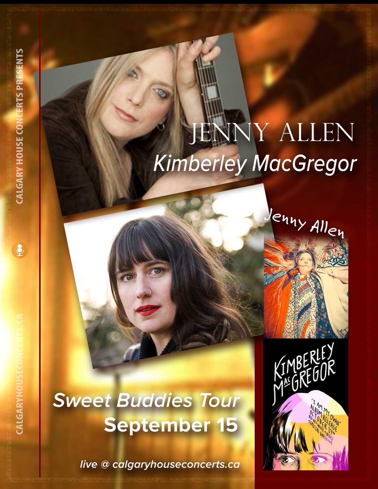 Jenny Allen and Kimberley MacGregor